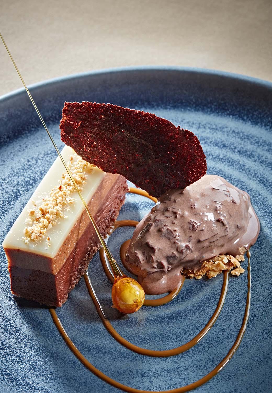 The Brasserie dessert