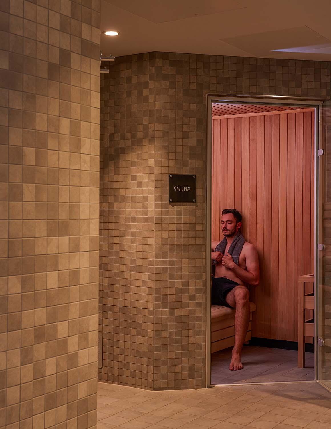 Elan Spa sauna