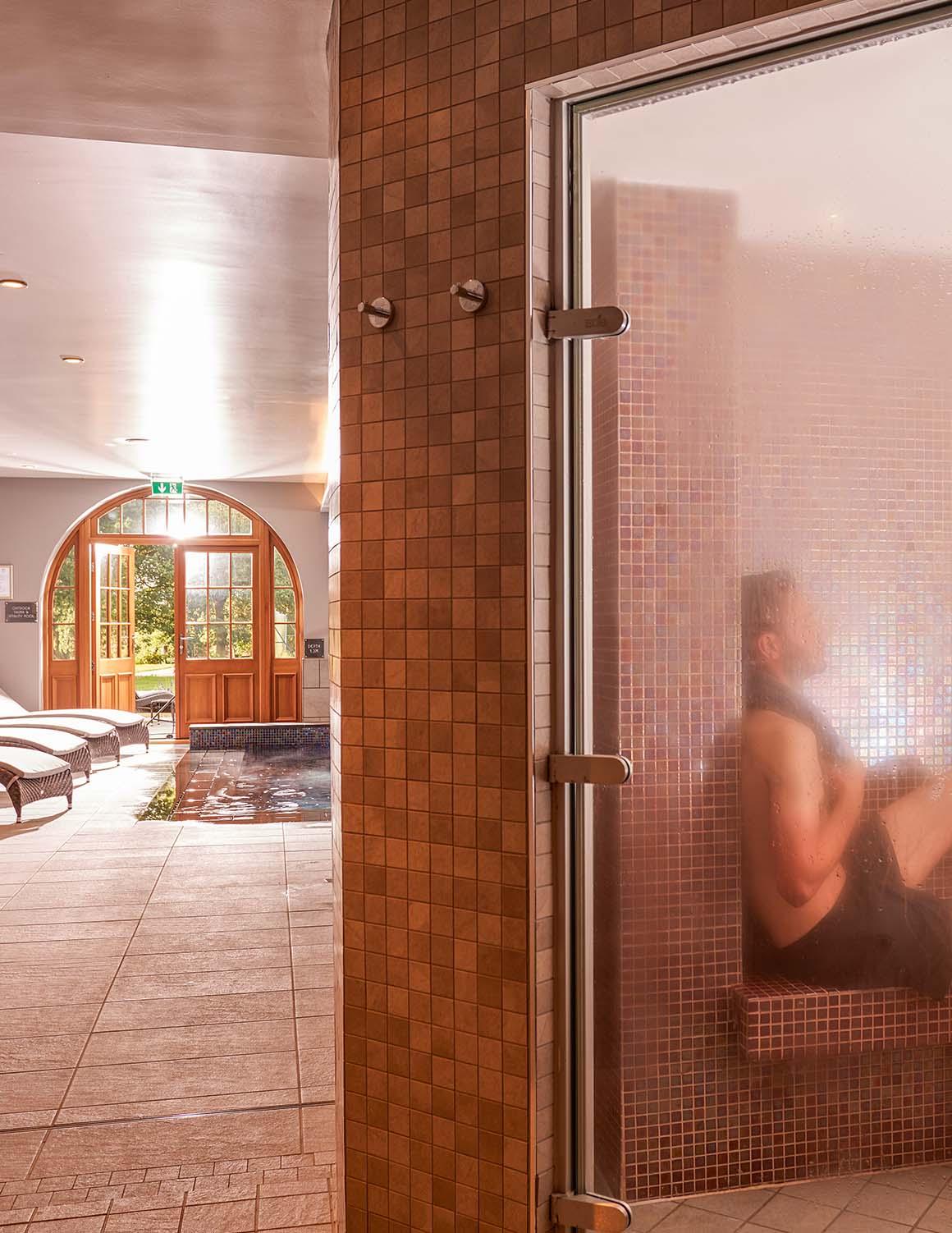 Elan Spa steam room